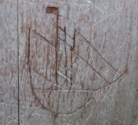salthouse-norfolk-church-ship-graffiti