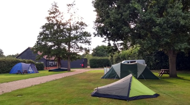 stalham marina campsite norfolk england