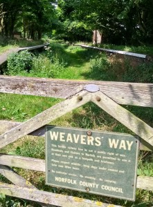 weavers way national trail norfolk england
