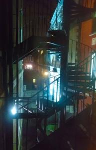 london england cityscape at night