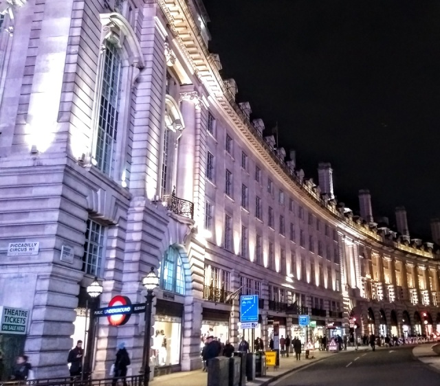 london city of westminster regents street