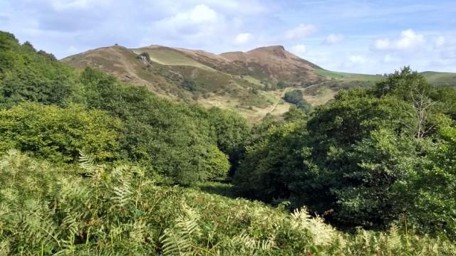 caer caradoc hill in shropshire
