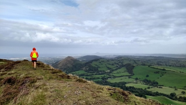 summit views from caer caradoc shropshire england