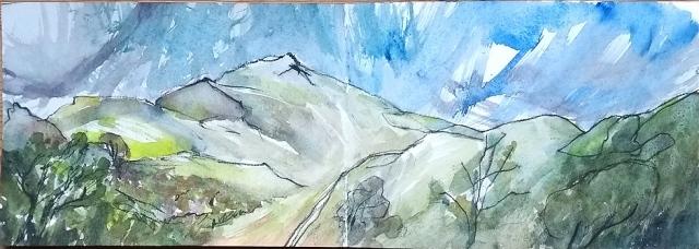 shropshire hill caer caradoc