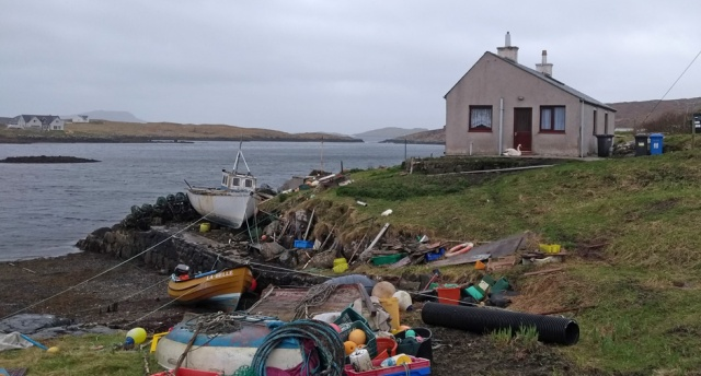 outer hebrides scotland cottage