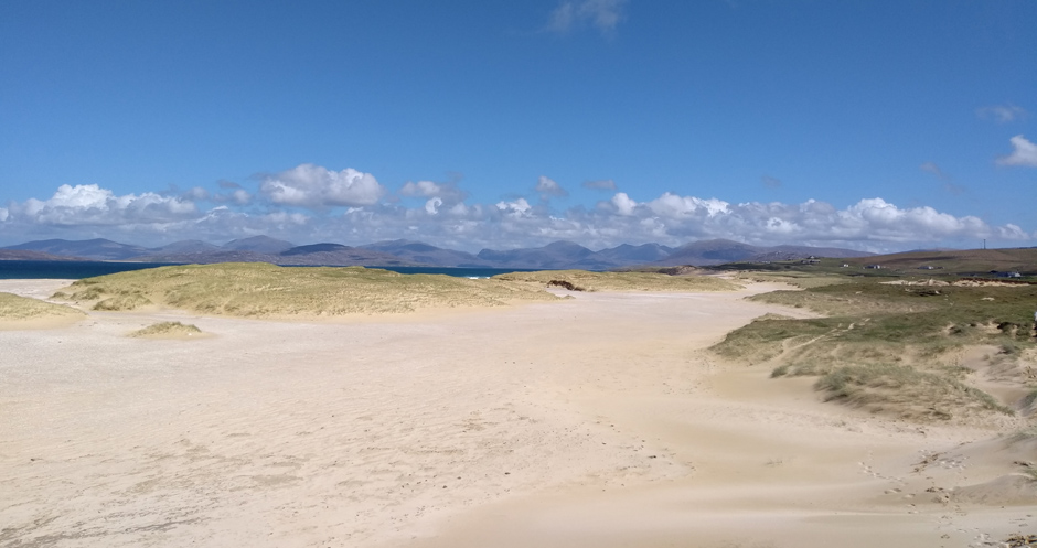 scarista beach on island of Harris