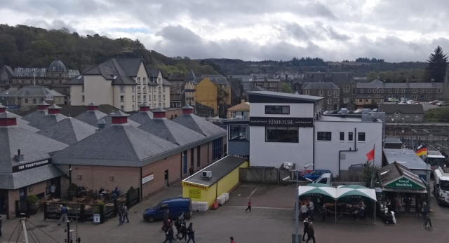 oban quayside scotland