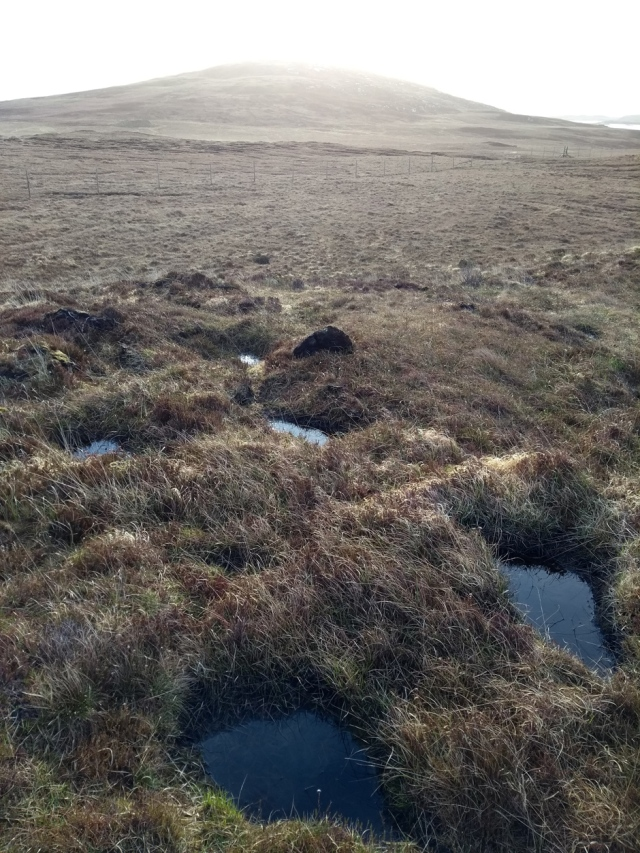 north uist moorland outer hebrides scotland