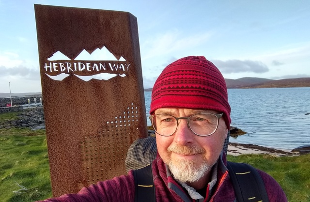 Hebridean Way hiking trail outer hebrides