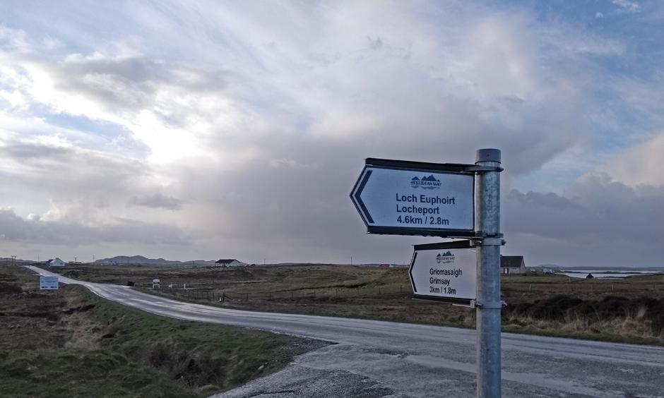 north uist trail