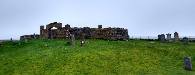 south uist ruined chapel