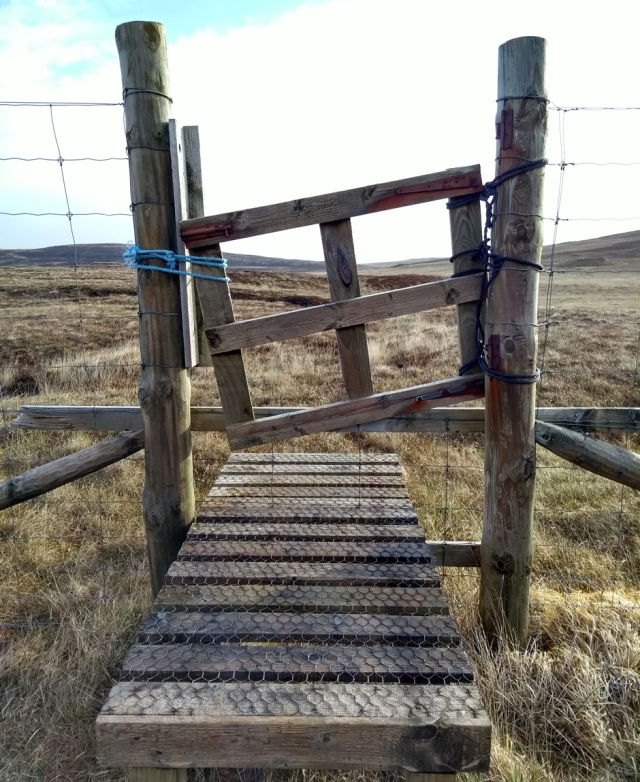 north uist hebrides scotland hiking trail