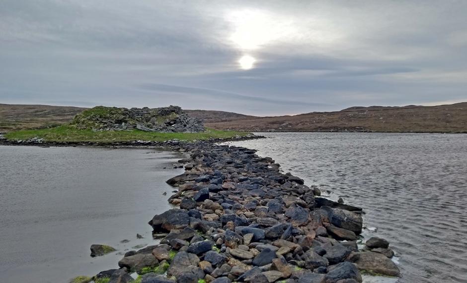 hebridean way north uist scotland hiking