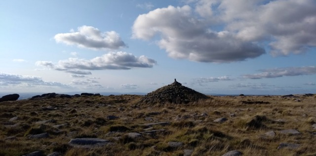 cairn on the pennine way england