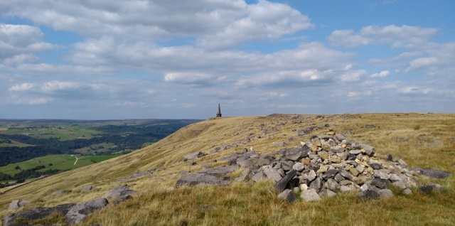 stoodley pike hebden bridge yorkshire england