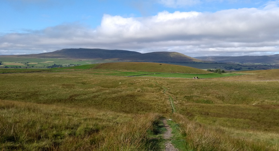 whernside from the pennine way yorkshire