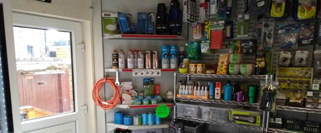 bellingham norhtumberland petrol station camping shop