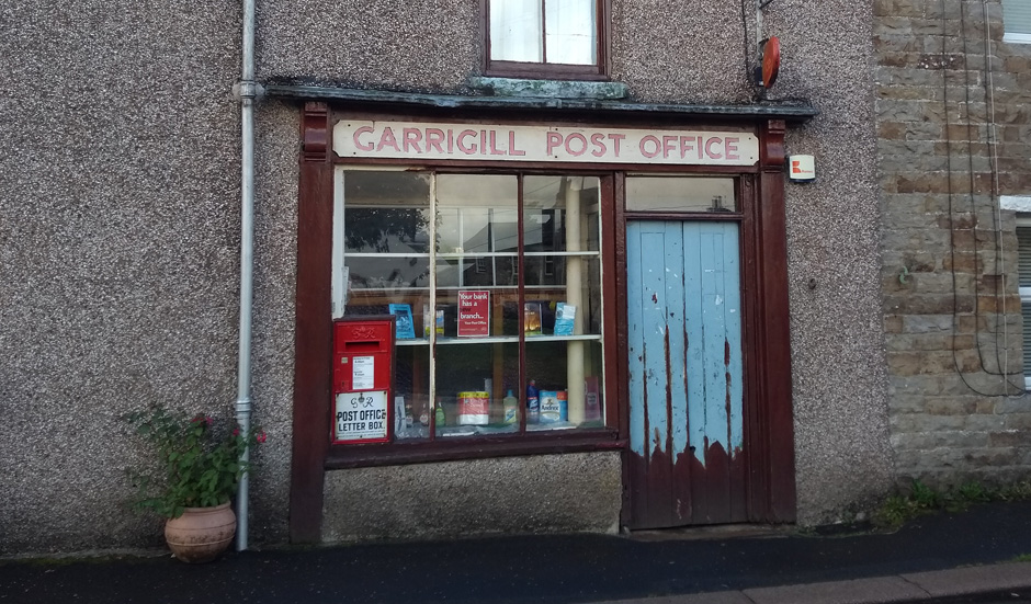 garrigill post office pennine way