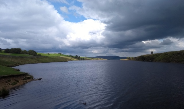 grassholme reservoir county durham uk