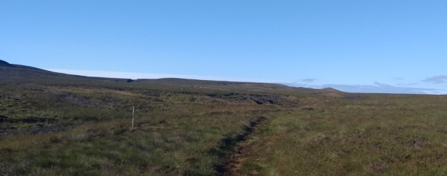 pennine way lookingback to tan hill