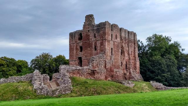 border castle in scotland england northumberland