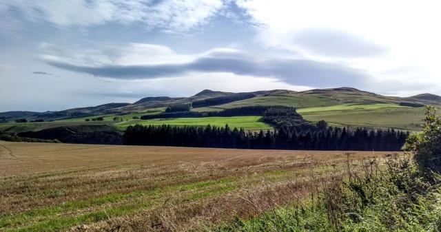 scottish national trail morebattle borders
