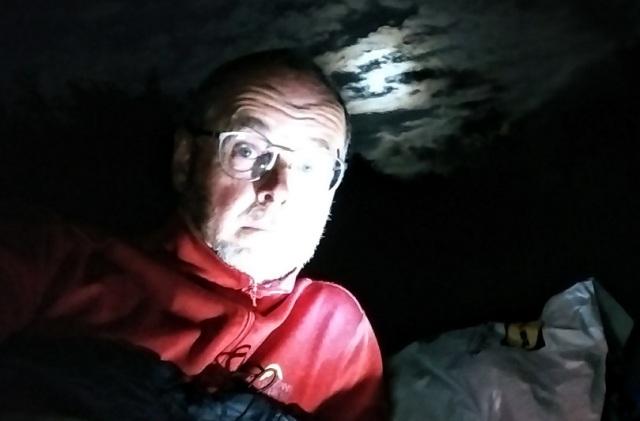 bivy bag bivouac at night